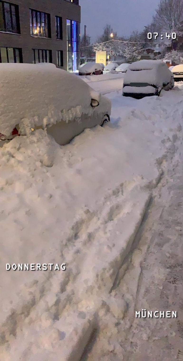 zima Niemcy