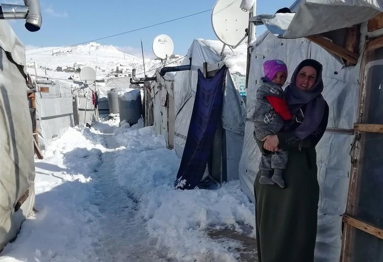 zima w Libanie