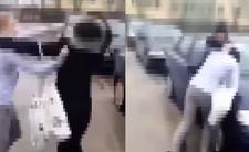 Walka dziewczyn w Ostrowi Mazowieckiej - nastolatki i brutalna bójka jak w MMA
