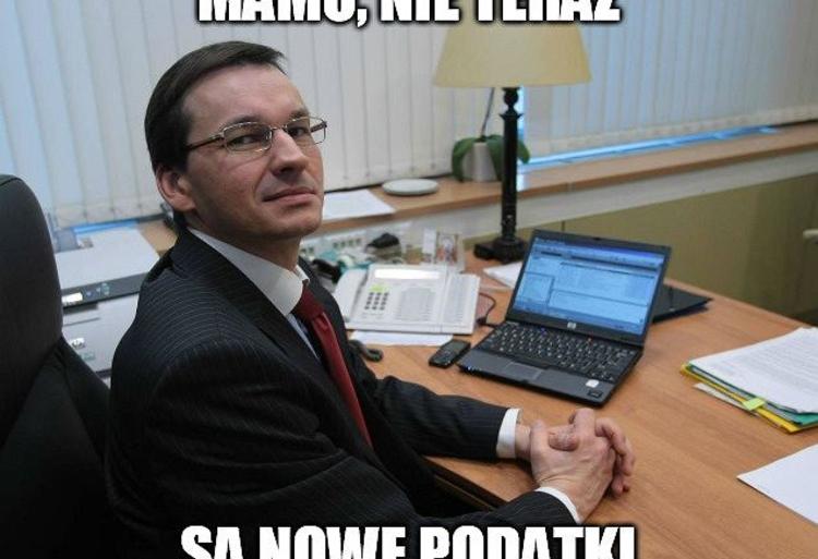 Memy Morawiecki Podatki 111