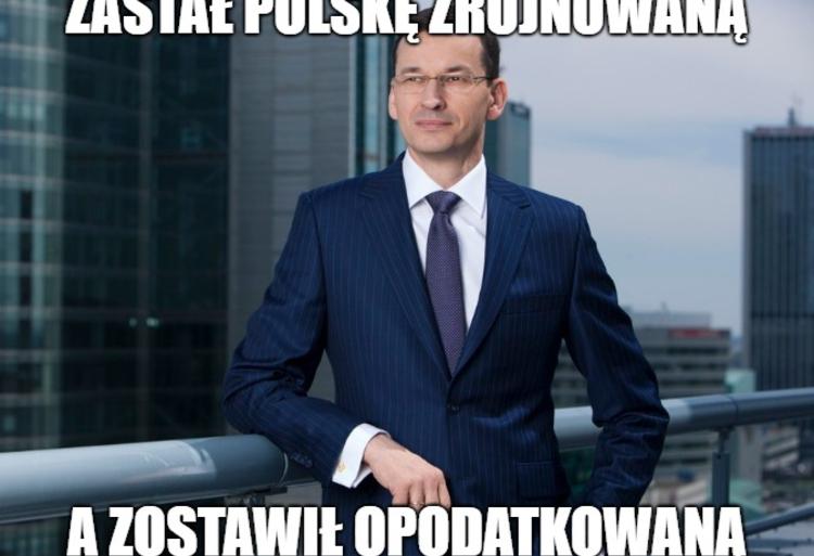 Memy Morawiecki Podatki 1111