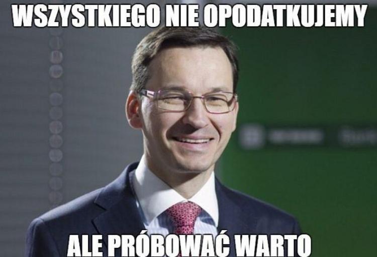 Memy Morawiecki Podatki 2