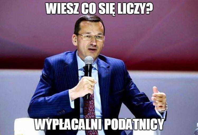 Memy Morawiecki Podatki 4