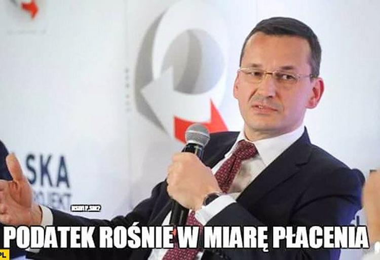 Memy Morawiecki Podatki Paczaizm 1