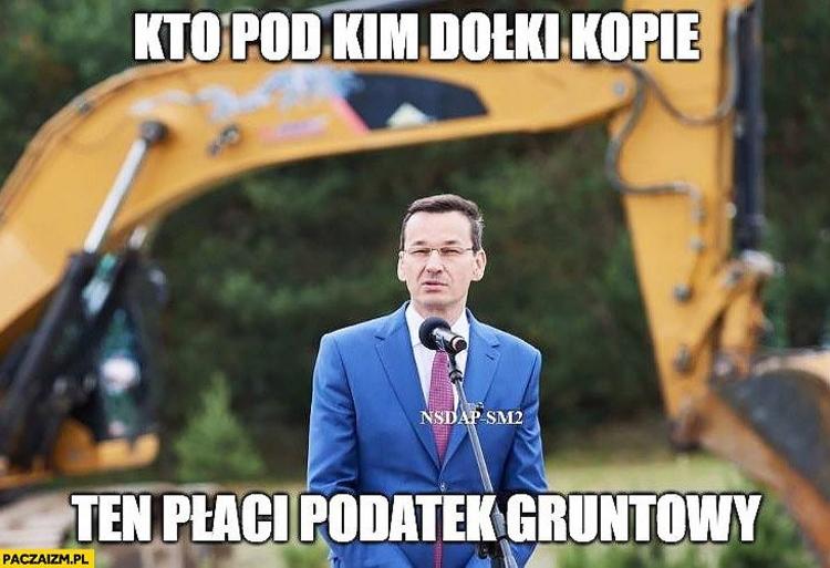 Memy Morawiecki Podatki Paczaizm