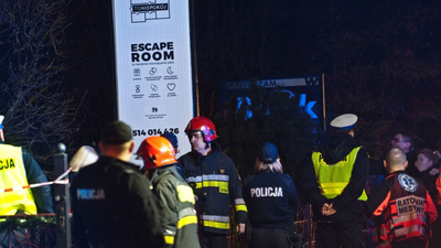 Koszalin pożar w escape room