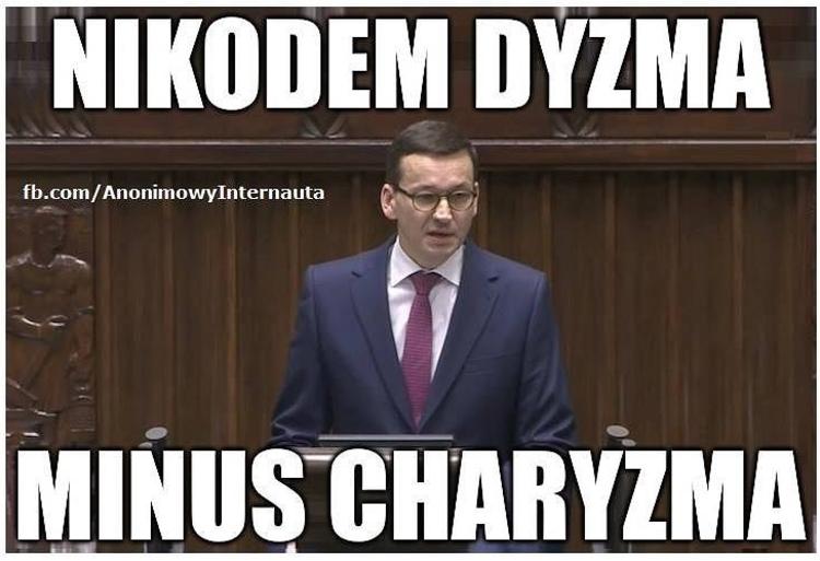 Mateusz Morawiecki Anonimowy I