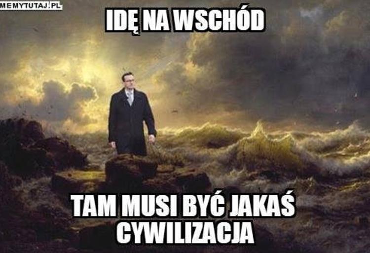 Memy gorszego sortu Morawiecki