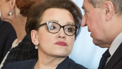 Anna Zalewska ZNP strajk nauczycieli