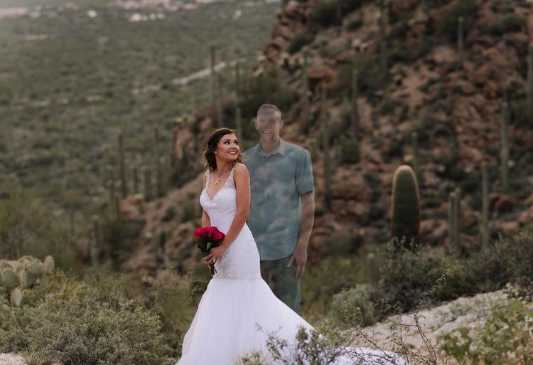 ślubna sesja zdjęciowa Debbie Gerlach 6