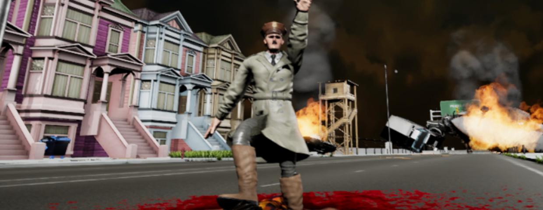 """Hitler zabija w grze komputerowej """"Jesus Strikes Back: Judgement Day"""""""