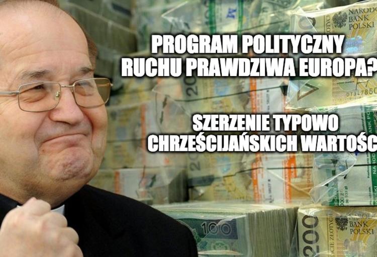 Tadeusz Rydzyk w polityce