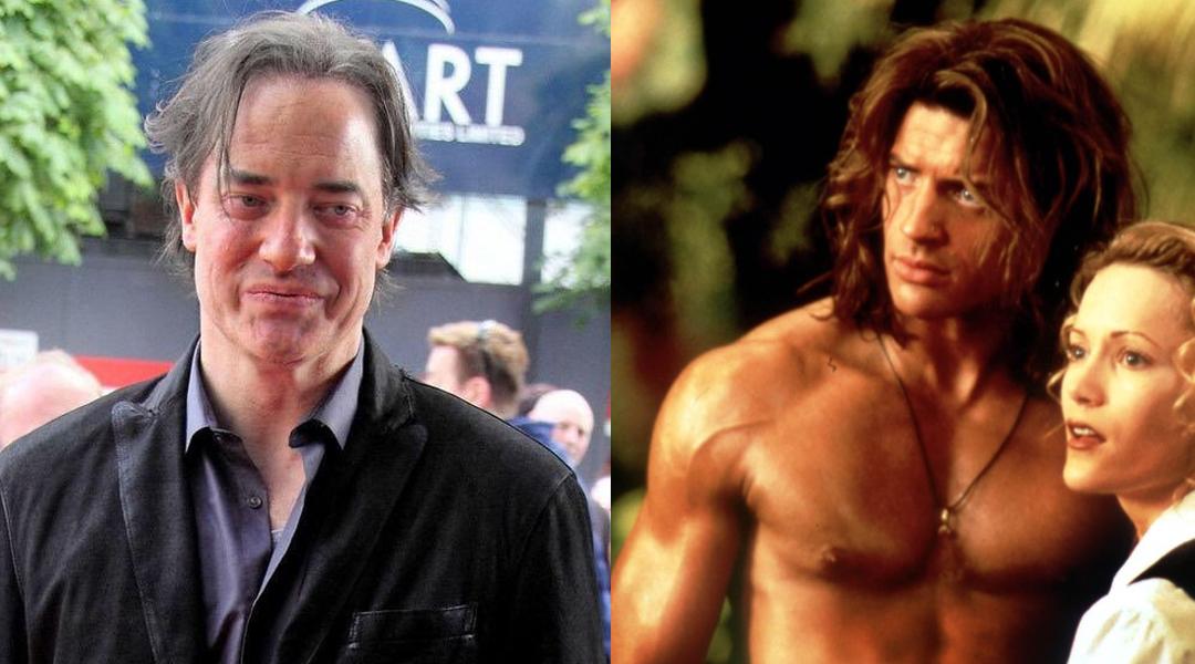 Brendan Fraser dziś i w latach 90.