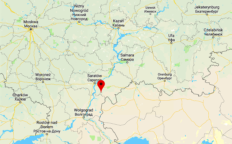 Rosja wieś Djakówka