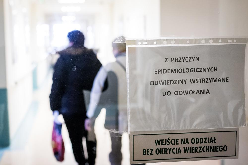 epidemia grypy i szpital Bydgoszcz