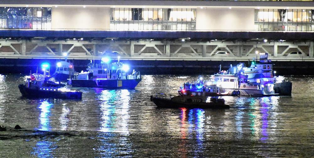 Helikopter wpadł do East River