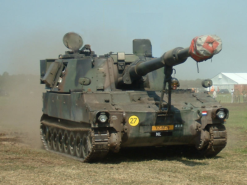 Amerykańska haubica samobieżna M109