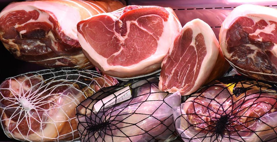 mięso w sklepie skład