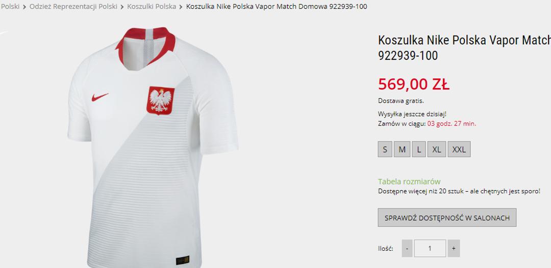 Nigeria mecz reprezentacja Polski koszulki