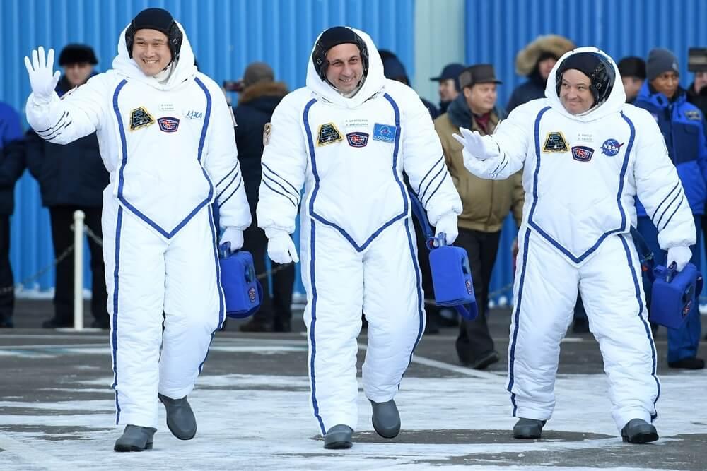 załoga statku Sojuz