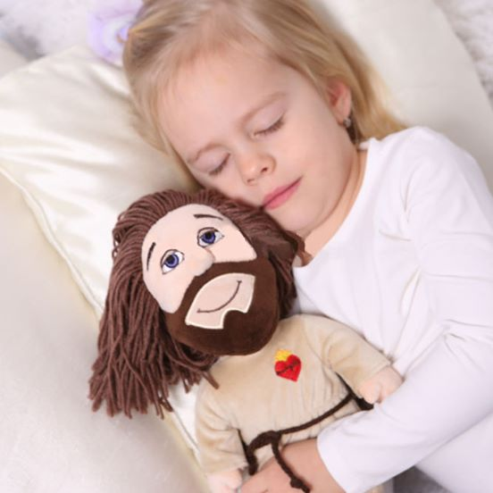 maskotka pluszowy Jezus