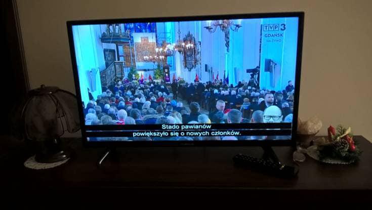 Pogrzeb Pawła Adamowicza w TVP3