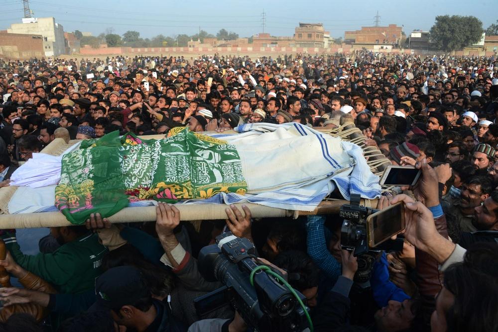 Pogrzeb Zainab Ansari