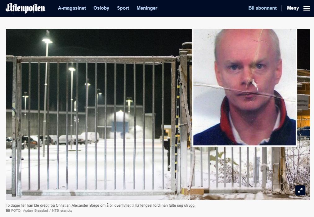 Polak zabił pedofila w norweskim więzieniu