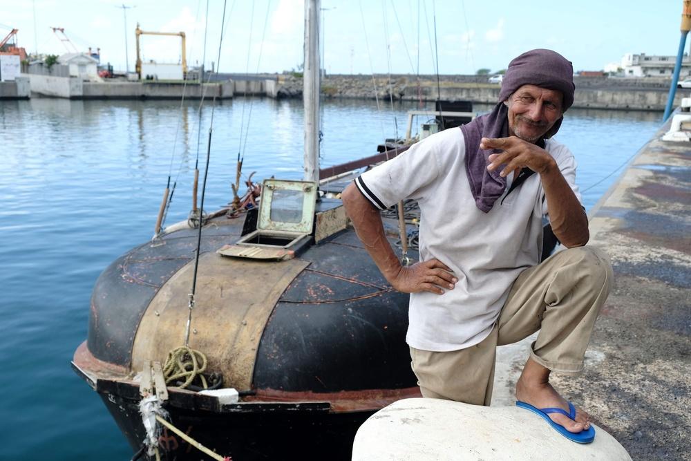 54-letni Zbigniew Reket po uratowaniu w pobliżu francuskiej wyspy Reunion.