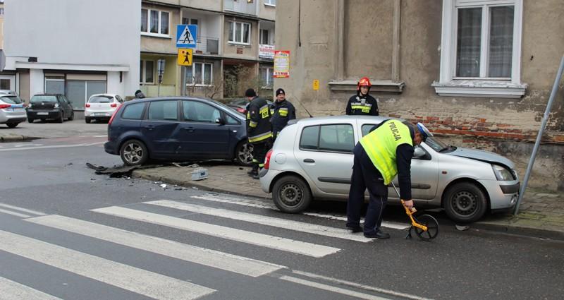 Wypadek samochodowy w Kaliszu