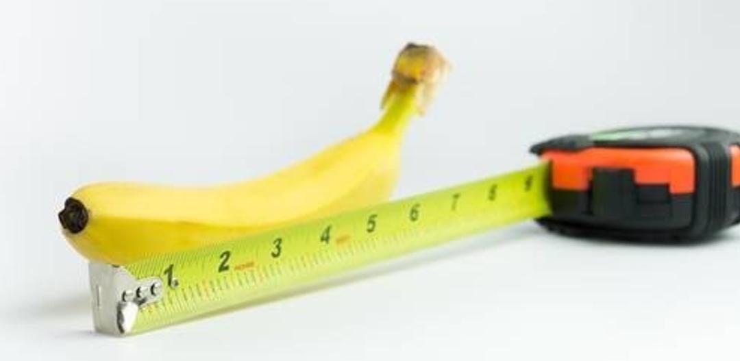 seks banan mierzenie penisa