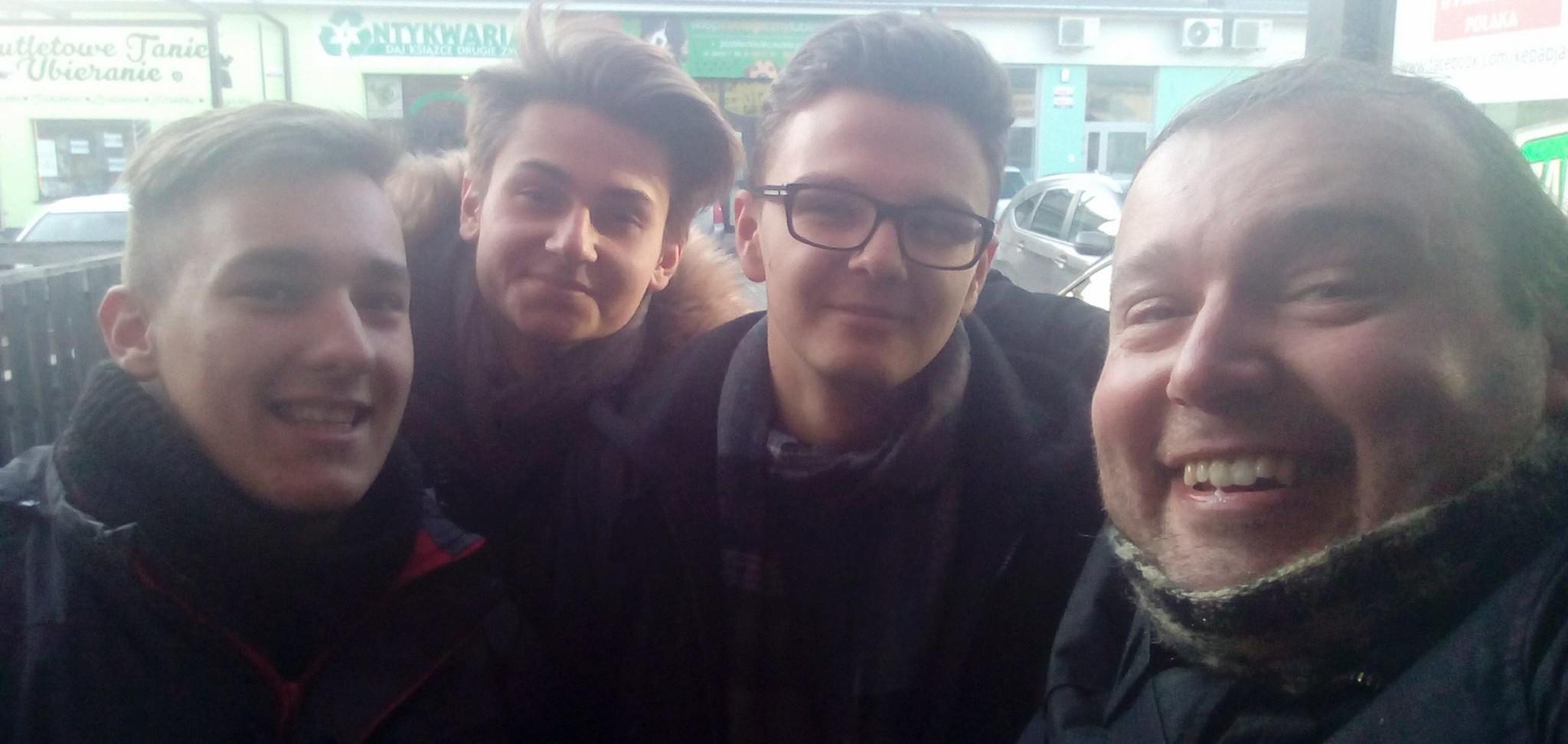Super Zbieracz z Lublina jest przez studentów znany i lubiany.