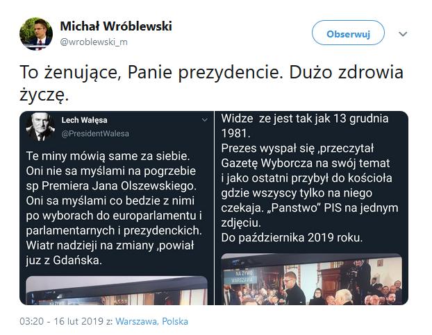 Wałęsa Twitter