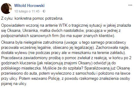 Witold Horowski
