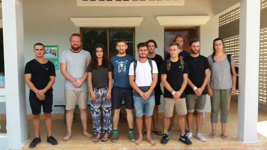 Turyści zatrzymani w Kambodży