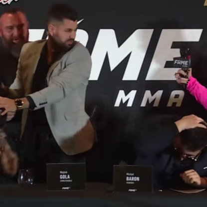 Esmeralda Godlewska i Marta Linkiewicz na Fame MMA 3. Wkrótce walka, a na razie konferencja. Była bitwa, wyzwiska i przebój Lady Pank. Czekacie na oktagon?