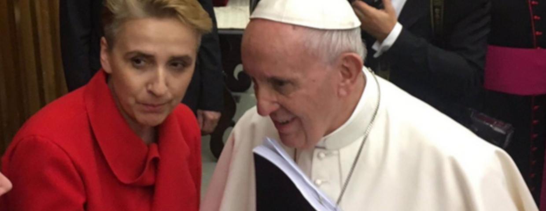 Posłanka Scheuring-Wielgus (Nowoczesna, Teraz_ i papierż Franciaszek - wspólne spotkanie w Watykanie ws. pedofilii w Kościele w Polsce. Wkrótce synod