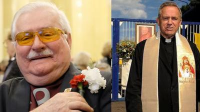 Były prezydent RP Lech Wałęsa na Twitterze i w Kielcach broni księdza pratała Henryka Jankowskiego. Oskarzenia o pedofilię o współpraca z SB to kłamstwo?