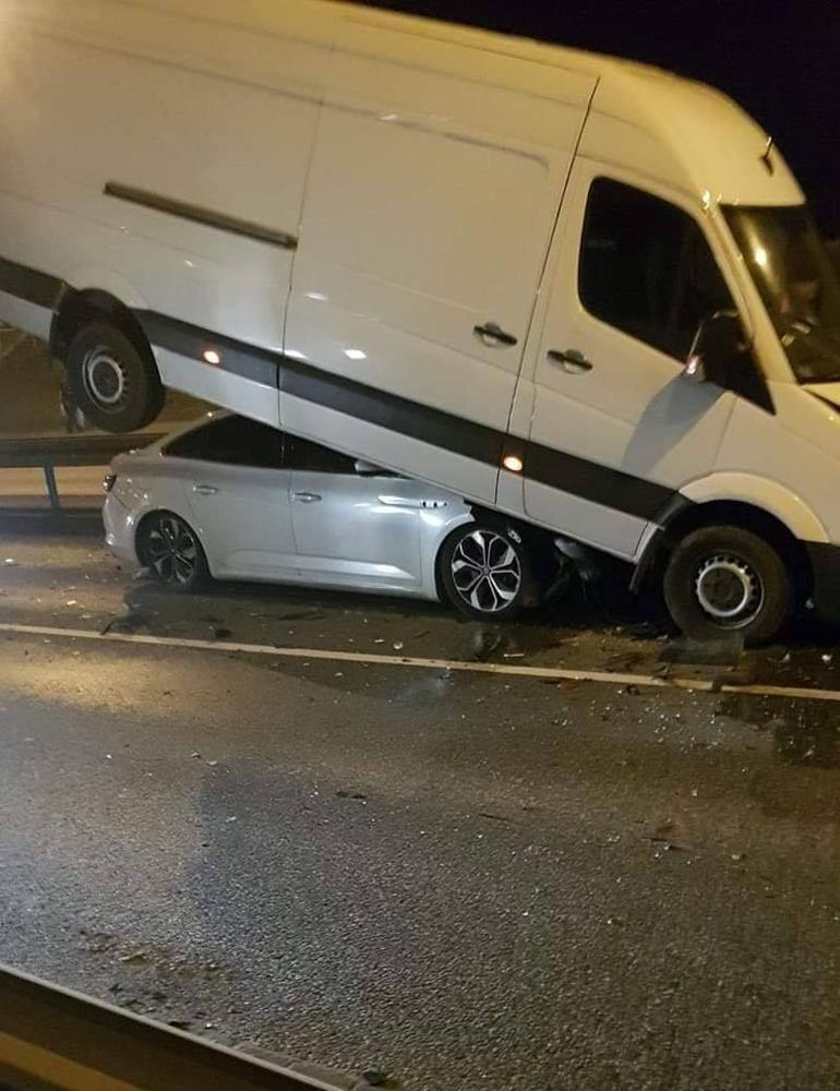 Warszawa wypadek samochodowy Wawer 2
