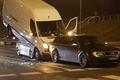 Warszawa wypadek samochodowy Wawer 5