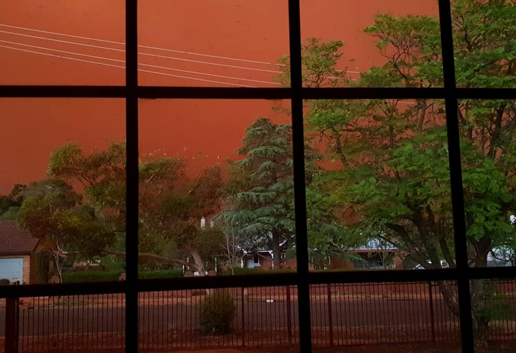 burza piaskowa Australia 3