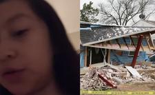 Linda Rogers z Dallas (USA) i wubuch gazu w domy. wyciek gazu z rury i eksplozja  - dziecko nie przeżyło. Nie dało się oddac organów na przeszczep.