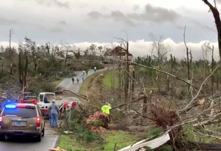Alabama Tornado CNN Twitter