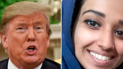 Hoda Muthana wspierała ISIS. Państwo Islamskie upada, ona chce wrócić do USA. Prezydent USA Donald Trump i Mike Pompeo odmawiają jej amerykańskiego obywatelstwa