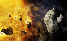 Gigantyczna asteroida pędzi prosto na Słońce