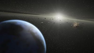 Asteroida leci prosto na nas! Koniec świata jest blisko