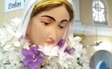 Cud na Sri Lance? Figurka Matki Boskiej zaczęła nagle płakać [WIDEO]