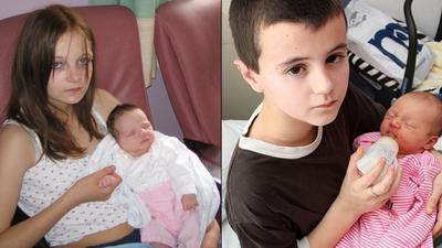 Dzieci, które urodziły dzieci. Najmłodsi rodzice w historii