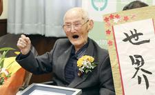 Oto najstarszy mężczyzna na świecie. Nie uwierzycie, ile ma lat