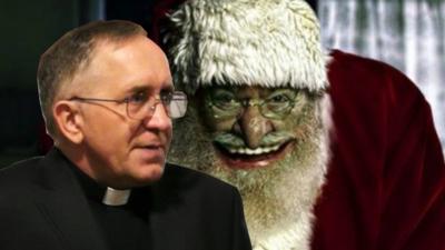 Ksiądz kontra św. Mikołaj - ma ochotę na rózgę?